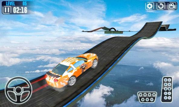 Impossible Car Stunt Game Pro 3D screenshot 1