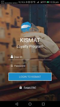 KISMAT Loyalty Program poster