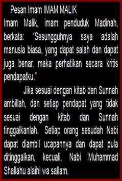 Kisah Imam MALIKI lengkap apk screenshot