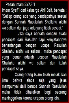 Kisah Imam SYAFII lengkap apk screenshot