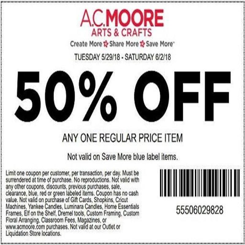 AC Moore Coupons для Андроид - скачать APK