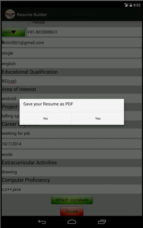 Advanced Resume Builder Apk Download Free Education App For