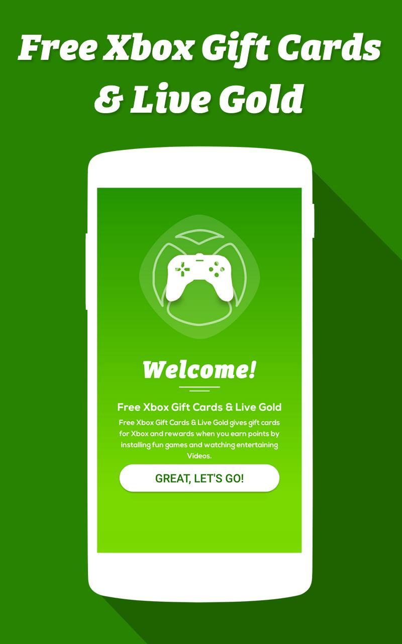 Free Xbox Gift Cards for Android - APK Download