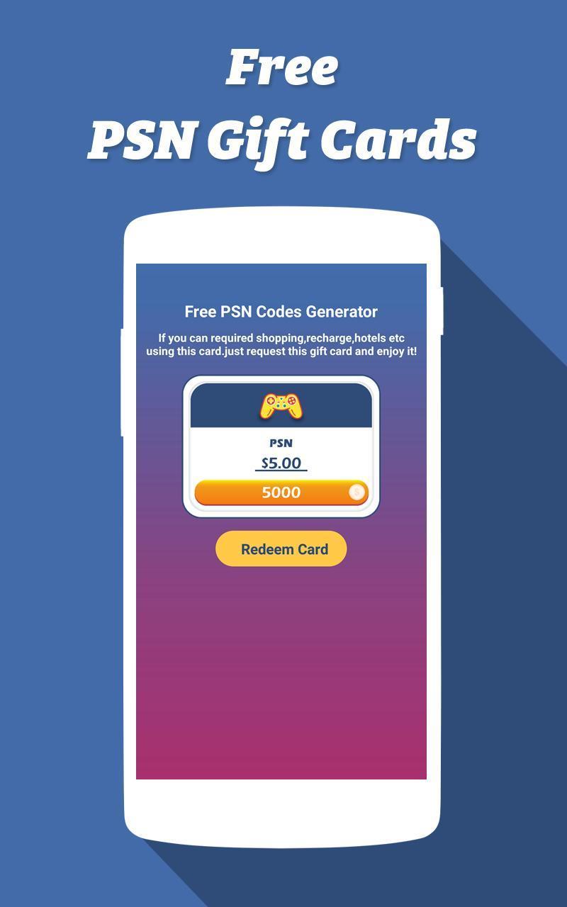 Psn Gift Card Generator - Gift Ideas