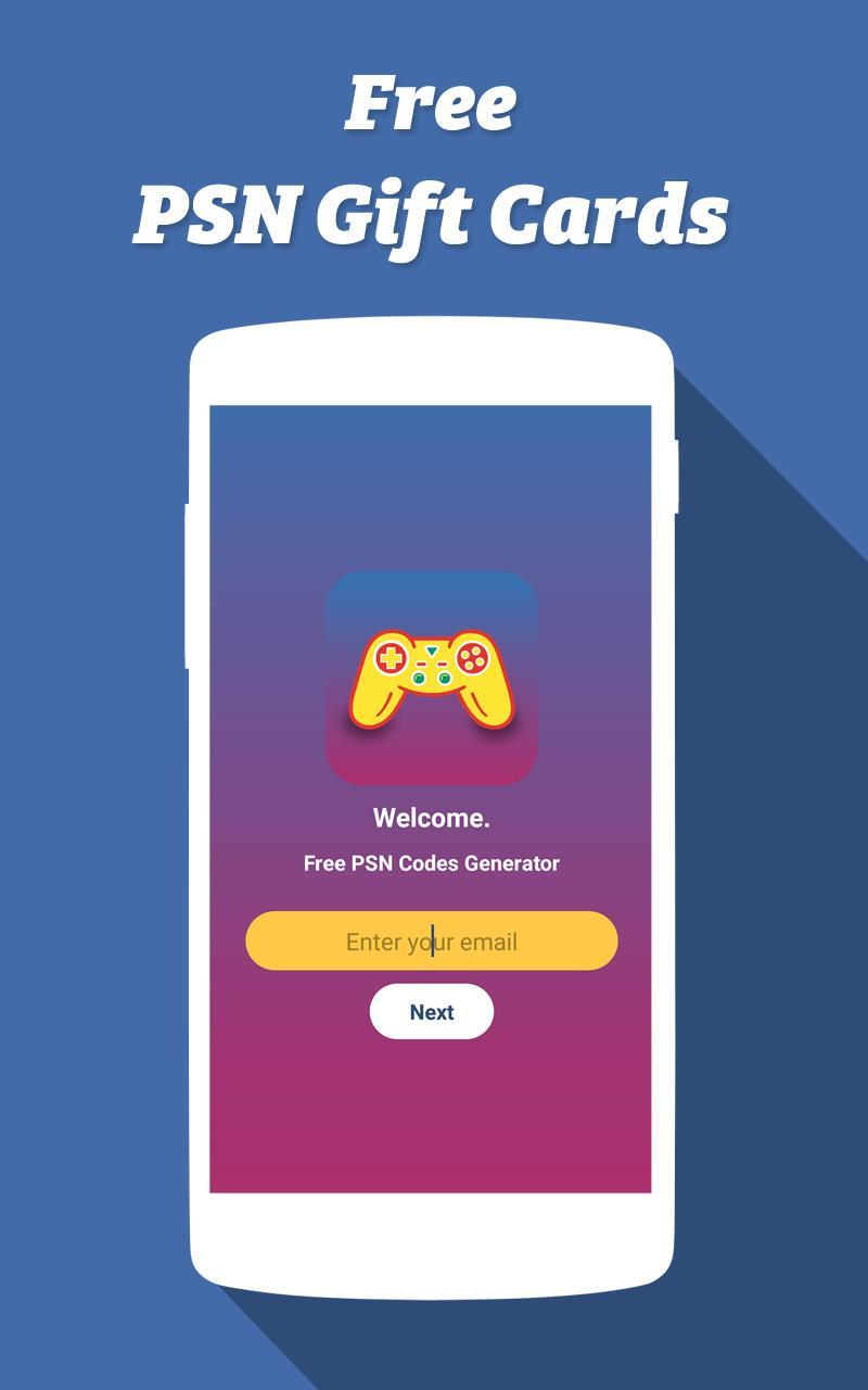 Free PSN Codes Generator for Android - APK Download