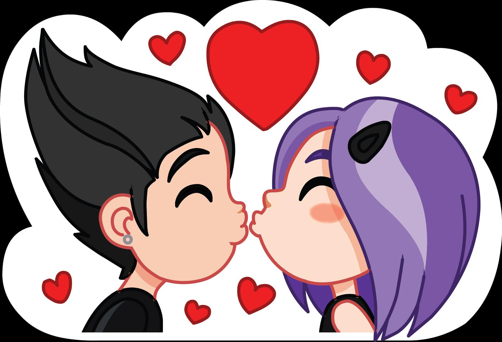 Kiss Me Love Stickers For Android Apk Download