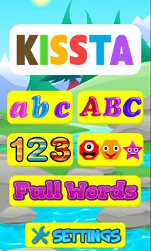Letter Tracing ABC Worksheets poster