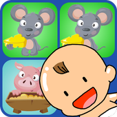 Kid's Match Picture Cards Game icon