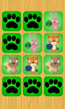 Kid's Match Picture Cards Game apk screenshot