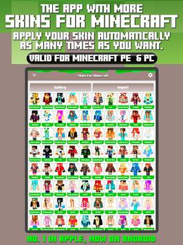 Skins For Minecraft PE PC APK Download Free Tools APP For - Skins para minecraft pe pc