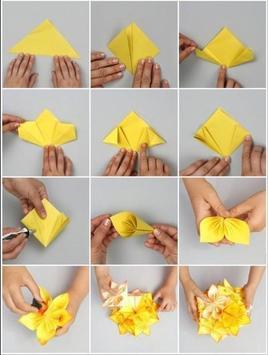 origami tutorial poster