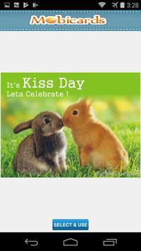 Kiss Day Greeting  & eCards apk screenshot