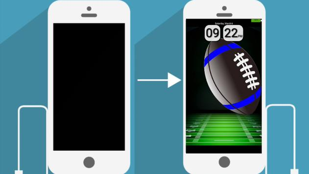 Football DayDream Clock apk screenshot