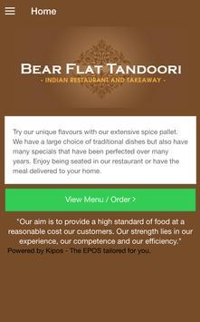 Bear Flat Tandoori poster