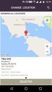 Tikis Grill screenshot 2