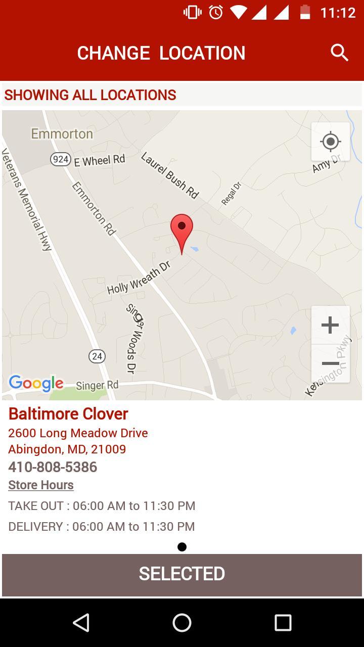Baltimore clover CLOV Stock