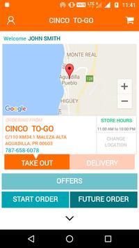 CINCO TO-GO apk screenshot