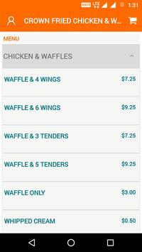 Crown Chicken & Waffle screenshot 3