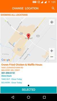 Crown Chicken & Waffle screenshot 1