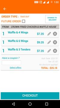 Crown Chicken & Waffle screenshot 5