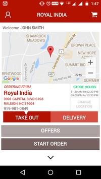 Royal India - Raleigh apk screenshot