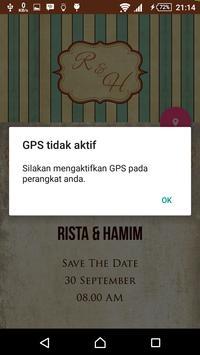 Rista & Hamim Wedding apk screenshot
