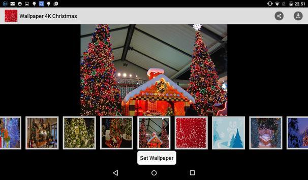 Wallpaper 4K Christmas apk screenshot