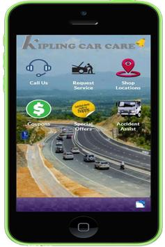 Kipling Car Care poster