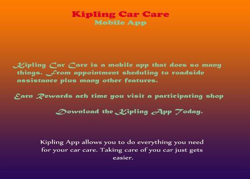 Kipling Car Care screenshot 1