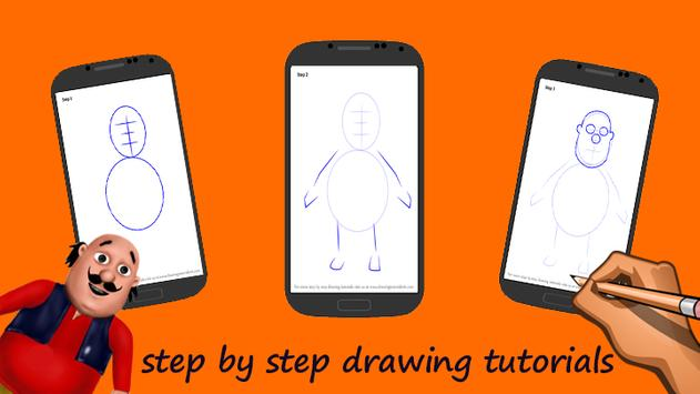 how to draw motu patlus apk screenshot