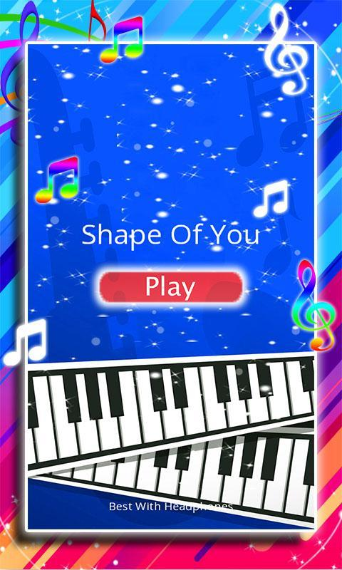 Piano Keyboard Roblox Ussr Anthem Shape Of You Piano Tiles For Android Apk Download