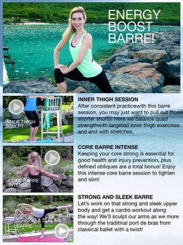 Fittbe Ballet Barre Workouts & Pilates screenshot 13