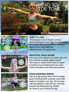 Fittbe Ballet Barre Workouts & Pilates screenshot 11
