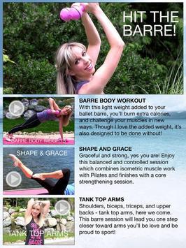 Fittbe Ballet Barre Workouts & Pilates screenshot 1