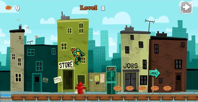 Best Ninja Turtle Escape apk screenshot