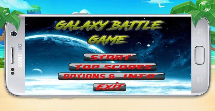 Galaxy Battle Game apk screenshot