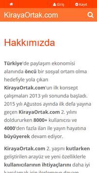 KirayaOrtak screenshot 4