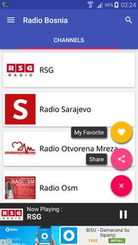 Bosnia Radio Listening apk screenshot