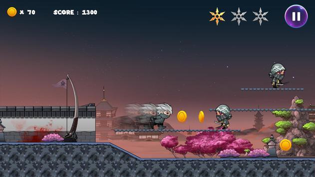 Ninja Run screenshot 2