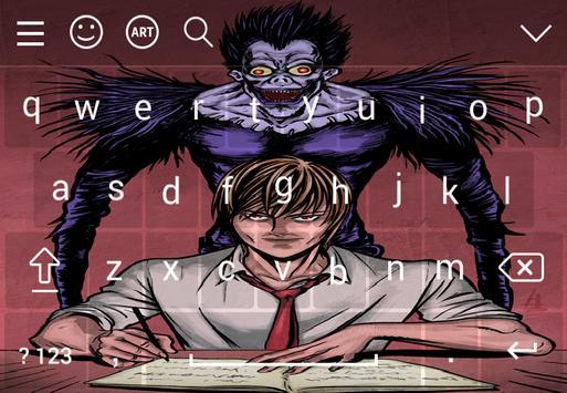 Keyboard For Death Note screenshot 2
