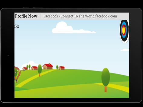 Bow and Arrow archery of tiny shooting target game screenshot 5