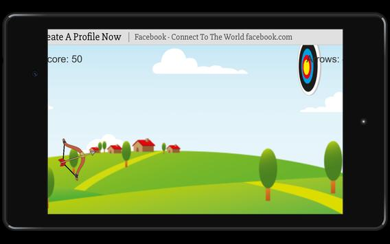 Bow and Arrow archery of tiny shooting target game screenshot 8