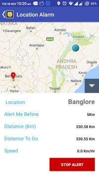 Location Alarm screenshot 3