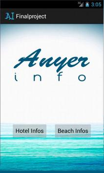 Anyer Info poster