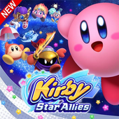 Kirby Star Allies gems Wallpapers Fans icon