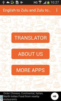 English to Zulu and Zulu to English Translator screenshot 2