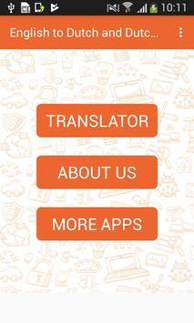 English to Dutch and Dutch to English Translator screenshot 2
