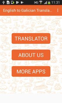 English to Galician Translator and Vice Versa poster