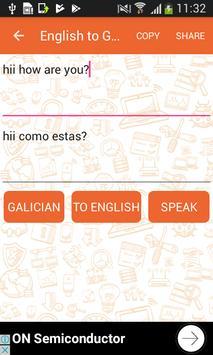 English to Galician Translator and Vice Versa screenshot 1
