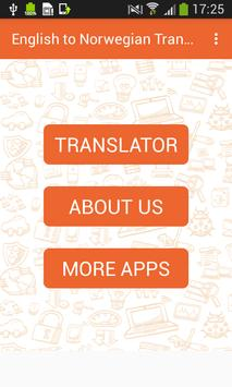English to Norwegian Translator and Vice Versa screenshot 2